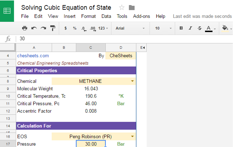 Solving Cubic Equation of State